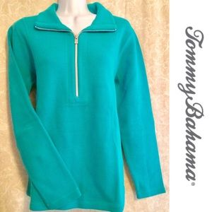 Tommy Bahama 1/2 Zip Long Sleeve Aruba Pullover🌴